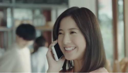 笑顔で癒してくれる吉高由里子