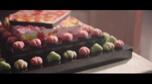 和菓子のケーキです。