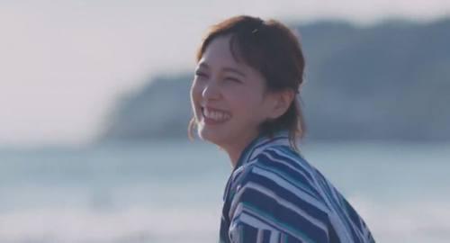 思いっきり笑顔