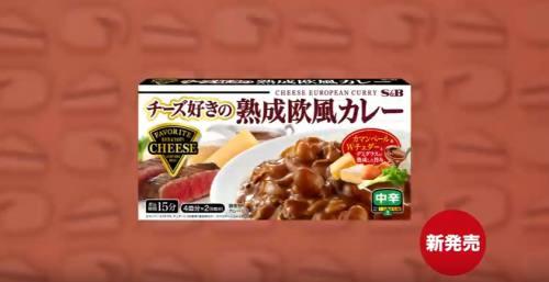 チーズ好きの熟成欧風カレーCM8