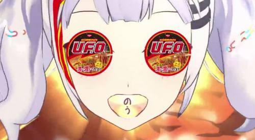 日清UFOのCM4