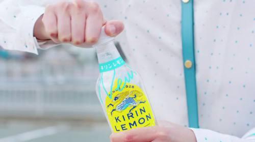キリンレモンのCM4