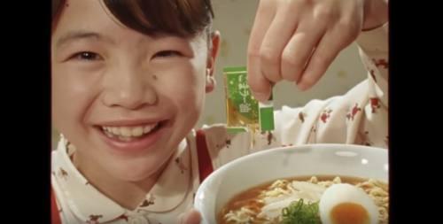 日清の袋麺のCM6