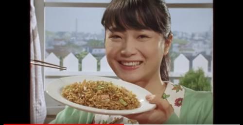 日清の袋麺のCM8