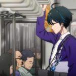 電車に乗るっアニメのCM1